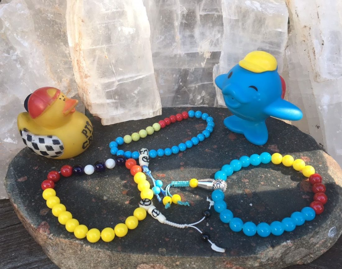Fishnu and Rubber Ducky Malas